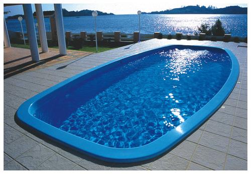Glasvezel Zwembaden