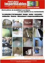 fotos de trabajo efectuados con pinturas impermeables