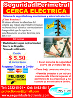 Electrical Promotion in Nicaragua, perimeter security
