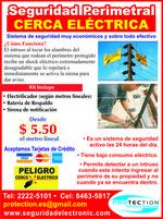 Promocion Cerca Electrica Nicaragua, seguridad perimetral