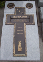 FULL BODY TABLET OF GRANITE AND BRASS