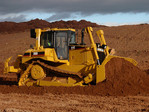 Heavy equipment for earth movements and construction