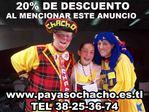 Payasos en Guadalajara Chacho y sus Payasitas