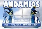 Alquiler GUINDOLA, ANDAMIOS COLGANTE, ALTURA