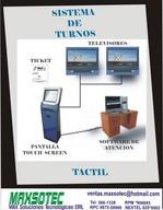 Gestion de colas Sistema de turnos turnomatic