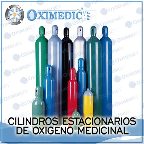 Cilindros estacionarios de Oxigeno