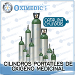 Cilindros portátiles de Oxigeno