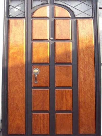 Hierro hogar qlyque la red comercial for Modelos de puertas de metal