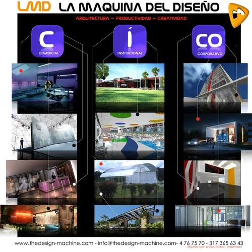 Lmd arquitectos y dise adores qlyque la red comercial - Arquitectos interioristas ...