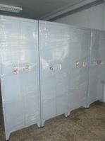 armarios de metal simples o con caja de seguridad