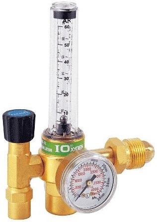 Reguladores para Gas Argon y CO2 con Flujometro Marca Morris-I Oxygen