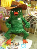 phineas platypus pinata and fear