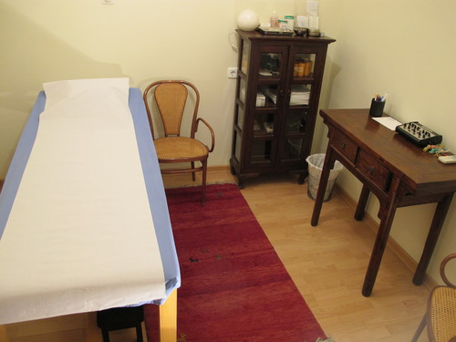 Sala tratamiento acpuntura