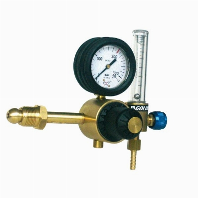 Argon Gas Regulator with Flowmeter Brand Golven-Italy Model 11155