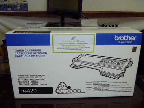 BROTHER TN-420 Toner Original New Lima Free delivery call
