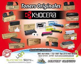 Toner Kyocera original, stock disponible, delivery gratuito en Lima.