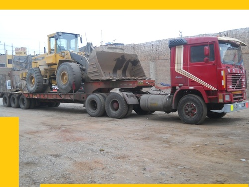 carga maquinaria pesada