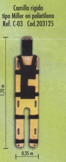 Miller brancard hout en kunststof