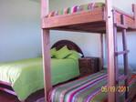 Hostel in Otavalo / groen huis Araque