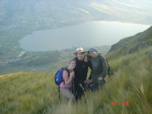 Lago visita de São Paulo - Otavalo - Equador