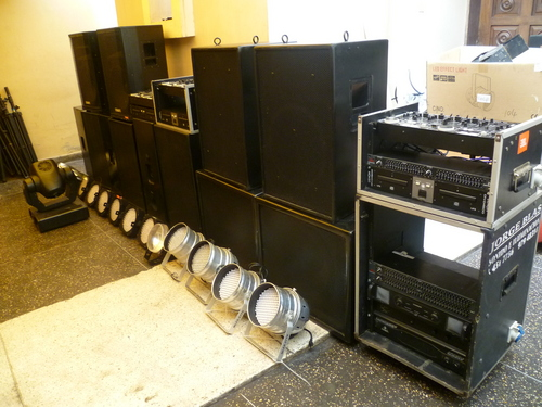 SOUND EQUIPMENT RENTAL / Neujahr / LIMA PERU