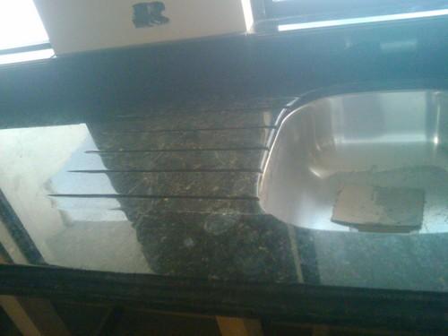 lava platos con bordes