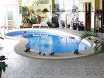 prefabricated swimming pool model europe