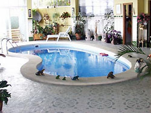 prefab zwembad model van Europa
