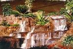 Naturstein Wasserfall