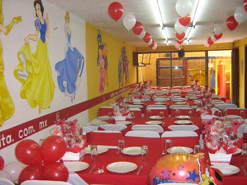 Children ballroom THE maid in Tlalpan.