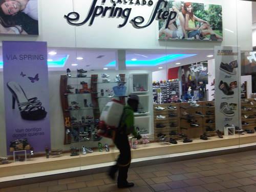Fumigacion en Centros Comerciales