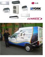 Domestic and commercial air conditioning