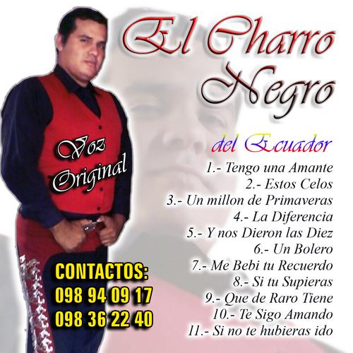 EL CHARRO NEGRO DEL ECUADOR