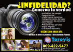 PRIVATE DETECTIVE AGENCY OF THE DOMINICAN REPUBLIC