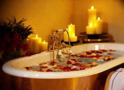 Tratamento molhado com aromaterapia