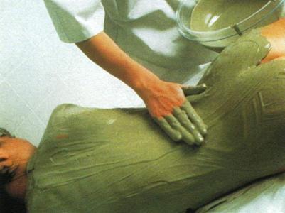 Fangoterapia con Algas marinas