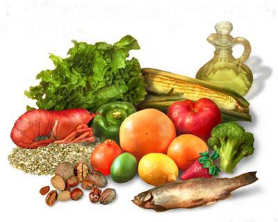 Alimentação saudável para manter a saúde