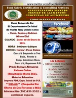 Food Safety Course in Bayamon