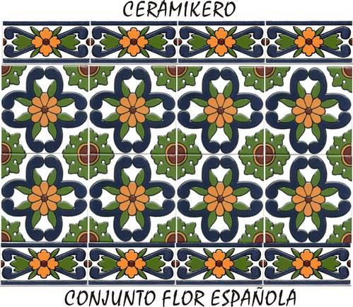Ceramica tercer fuego qlyque la red comercial for Azulejos decorados