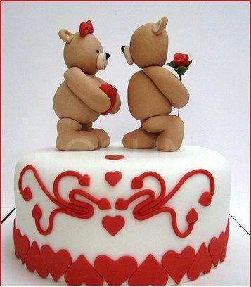 Tortas San Valentín...