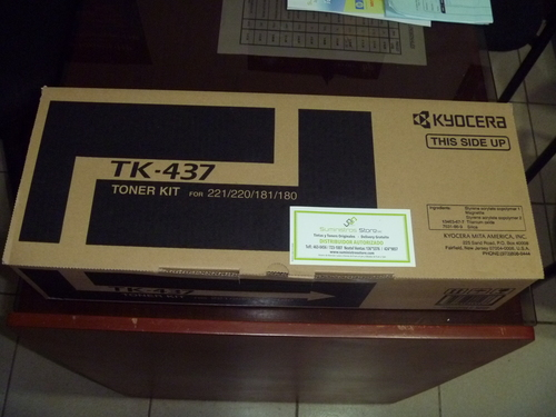 Kyocera TK-437 Toner for free delivery TASKALFA original 220/221