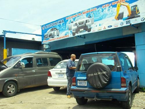 Autoklima automotive air conditioning.