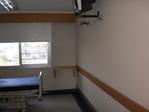 Empapelado en habitación de Centro médico de Paysandú (Uruguay)