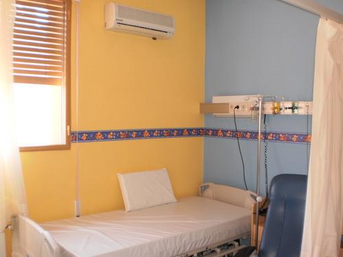 Pintado en sala de Centro médico de Paysandú (Uruguay)