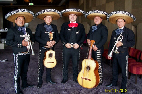 Mariachi Real de Mexico by Carlos Ramos at Olives