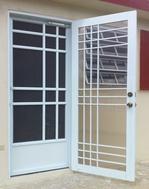 Modern door screens