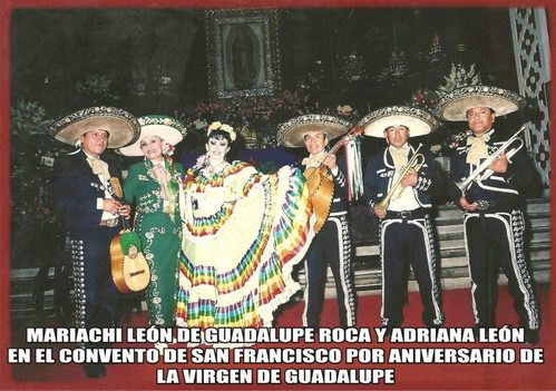 Mariachis para la Virgen de Guadalupe-Serenatas a Mamita Guadalupe