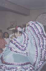 Mexicaanse dansen in Peru-Mexicaanse Ballet dance-Peru