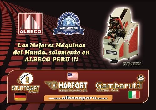 ARMADORAS DE PUNTAS = MONTADORAS HIDRAULICAS HARFORT, CERIM y RECES