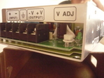 Conversor Mean Well 12 VDC a 24 VDC 50 W